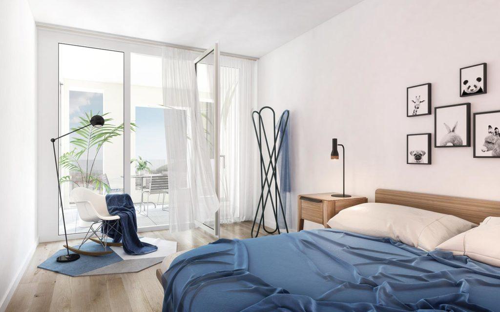 Grossmatte Luzern: Schlafzimmer